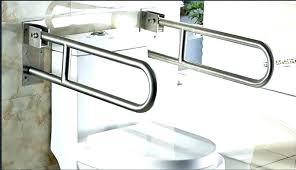toilet handrail height