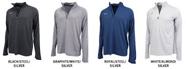Under Armour Color Chart Under Armour Team Stripe Tech Mens Quarter Zip Pullover