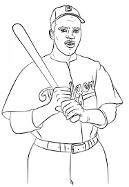 Small Picture Jackie Robinson coloring page Free Printable Coloring Pages