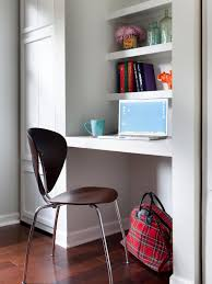 small office space ideas. 10 smart design ideas for small spaces hgtv intended desk office space