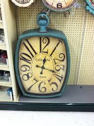 large wall clock at hobby lobby clock