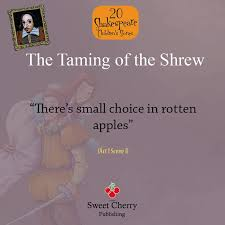 best shakespeare comedies the taming of the shrew images on  taming of the shrew essay topics our doubts are traitors and make us lose the good we oft might
