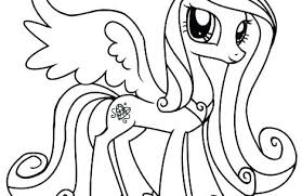 Princess Luna My Little Pony Coloring Page Pages Celestia And