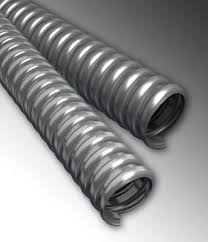Flexible Metal Conduit For Commercial And Industrial Use