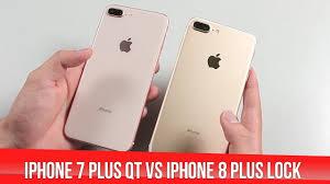 Cùng mức giá nên mua iPhone 8 Plus Lock hay iPhone 7 Plus quốc tế - YouTube