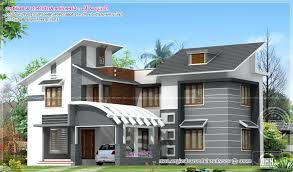 New Model Home Design Landmark 2 Story A Living Modern Homes Curved ...