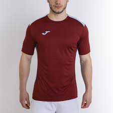 T Shirt Copa Black White S S Joma