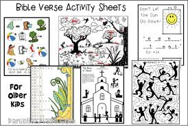 Babyfirst learn colors, abcs, rhymes & more. Printable Bible Verse Activity Sheets