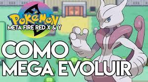 InfiniteLooper - COMO MEGA EVOLUIR POKÉMON META FIRE RED X & Y (HOW TO MEGA  EVOLVE) +DOWNLOAD (GBA)