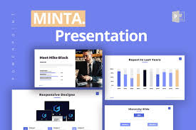 Free 2007 Powerpoint Templates Minta Business Free Powerpoint Template Powerpointify