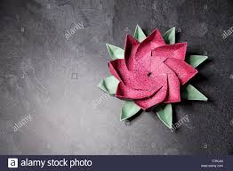 Paper Lotus Flower Pink Origami Lotus Flower Ars And Crafts Paper Art On