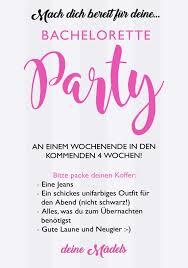 Freebie Giveaway Jga Papeterie Bachelorette Party Einladung Zum