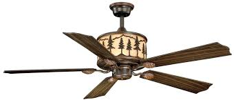 western ceiling fans rustic country inch west winds fan light kit c