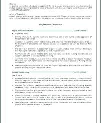 Career Overview Resume Adorable Career Overview Resume Colbroco
