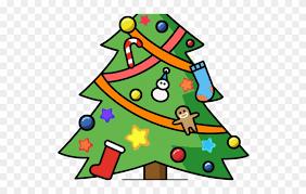 Printable Christmas Tree Christmas Lights Clipart Printable Christmas Tree Cartoon