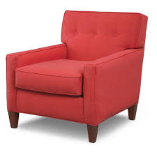 Red Accent Chair With Arms militariart