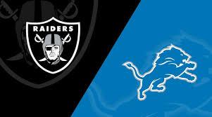 Detroit Lions Wr Depth Chart Detroit Lions At Oakland Raiders Matchup Preview 11 3 19