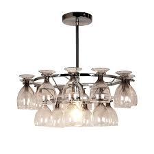 ceiling lights breathable wine glasses rustic chandeliers diy glass chandelier extra large wine glass from