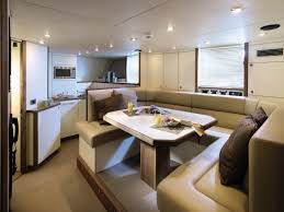 For Kitchen Diners Luxury Yacht Kitchen Diner Interior Design Ideas