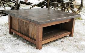 furniture exciting rustic modern coffee table designs rustic