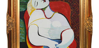 art corner blog pablo picasso s the dream most popular oil painting in 2016