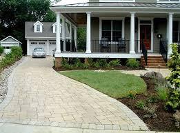 Permeable Paver Driveway  Permeable Paver Driveway  Garden And Backyard Driveway Ideas