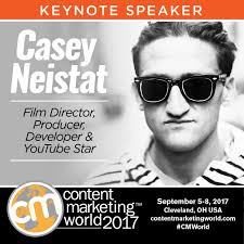Film Director And Youtube Star Casey Neistat Comes To Content ...