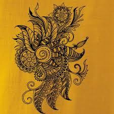 Tetování Ornament Kytka Tílko Triumph