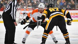 Philadelphia Flyers Pittsburgh Penguins Set To Face Off In First