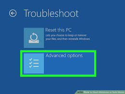 windows 10 safe mode how to start windows in safe mode with pictures wikihow