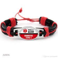 diabetic cal alert paracord survival gifts for diabetic type 1 2 friendship bracelets for women men jewelry