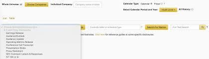Calcbench Blog