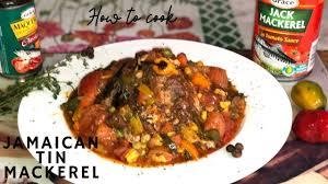 JAMAICAN TIN MACKEREL RECIPE