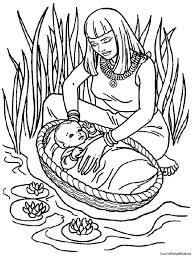 Moses Theme Coloring Pages Coloring Pages For Kids Bible Class
