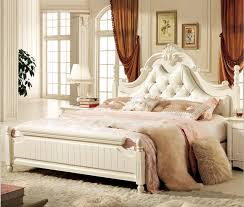 new latest furniture design. Antique White Bedroom Furniture Leather Bed 2015 New Latest Design F