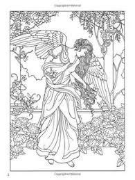 Elegant Heart With Angel Wings Coloring Pages C Trademe