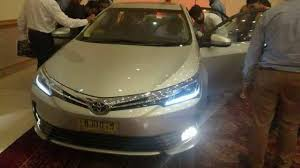 toyota corolla xli 2018. fine corolla bookings for 2018 face lifted toyota corolla now open inside toyota corolla xli 8