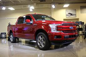 2018 ford pickup truck.  2018 detroit auto show new ford f150 pickup truck red inside 2018