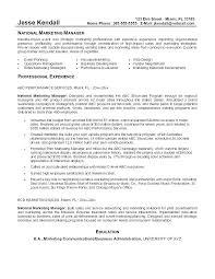 Sample Resume For Marketing Related Post Sample Resume Marketing