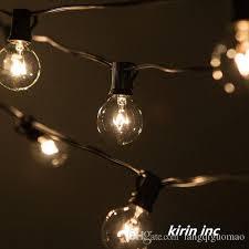 2018 220v 240v 50ft 15 2m g40 e14 lamp globe lights string outdoor string lights romantic lights outdoor lights globe lights from langqiguomao