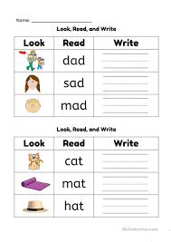 Word families worksheets help kids learn common spellings in a fast and fun way. Phonics Ad And At Word Families English Esl Worksheets For Distance Learning And Physical Classrooms