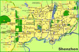 shenzhen tourist map