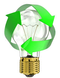 download recycle light bulb stock illustration illustration of shape 34539878 recycle bulbs r96 light