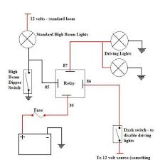 beautiful 4 pin relay diagram pictures images for image wire 4 Pin Relay Wiring Diagram Fog Light 4 pin relay wiring diagram spotlights circuit and schematics diagram Fog Light Relay Kit