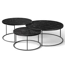 ancestors tabwa round nesting coffee table set of rouse home tables nz white marble elle nest madison side top brass ikea ayva faux west