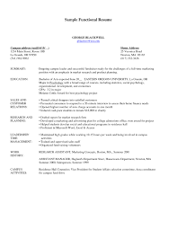 Resume Free Builder Functional Resume Sample Free Fresh Functional Resume Samples Free 86