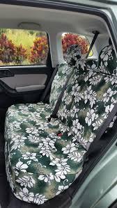 2016 subaru forester rear 60 40 bench with maui green hawaiian seat covers