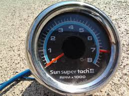 purchase sun super tach ii rat rod gasser hot rod tachometer tach sun super tach sst-802 at Sun Super Tach 2 Wiring Diagram