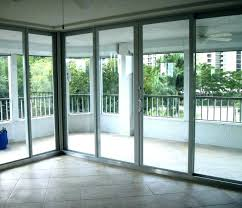 installing a sliding glass door in brick wall