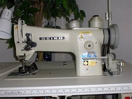 Industrial Canvas Sewing Machine